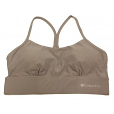 Columbia Women's Cross Back Bra - Low Support 1 Pack, Columbia Grey, Small