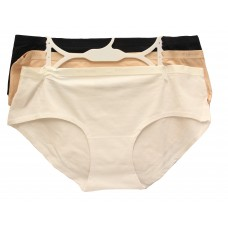 Columbia Four-Way Stretch Hipster 3-Pack White/Nude/Black LG
