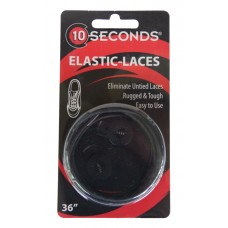 Ten Seconds Elastic Laces,Black