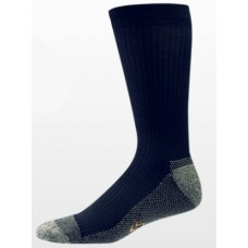 Aetrex Copper Sole Socks, Mens Dress/Casual, Crew, Navy