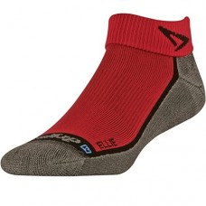 Drymax ELLIE Lite Trail Running 1/4 Crew,  Red/Anthracite