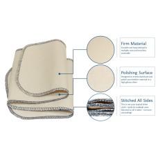 FeetPeople Premium Professional Shine Cloth, 20 Inch x 5 Inch
