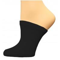 FeetPeople Premium Clog Socks 1 Pair, Black