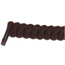 FeetPeople Curly Laces, Dark Brown