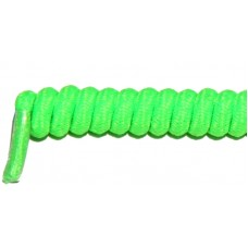 FeetPeople Curly Laces, Neon Green