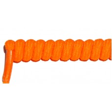 FeetPeople Curly Laces, Neon Orange