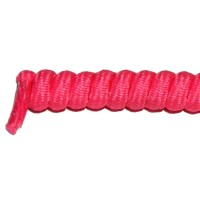 FeetPeople Curly Laces, Neon Pink