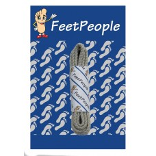 FeetPeople Brogue Casual Dress Laces, Bone
