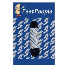FeetPeople Brogue Casual Dress Laces, Navy