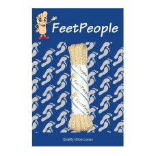 FeetPeople Brogue Casual Dress Laces, Tan