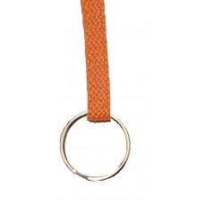 FeetPeople Flat Key Chain, Burnt Orange