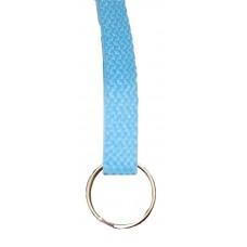 FeetPeople Flat Key Chain, Carolina Blue