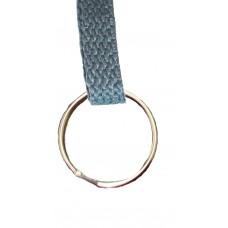 FeetPeople Flat Key Chain, Charcoal Grey