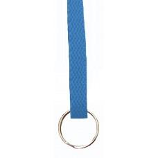 FeetPeople Flat Key Chain, Columbia Blue
