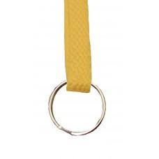 FeetPeople Flat Key Chain, Gold