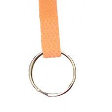 FeetPeople Flat Key Chain, Orange