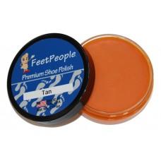 FeetPeople Premium Shoe Polish, 1.625 Oz., Tan