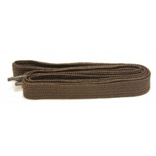 FeetPeople High Quality Fat Laces For Boots And Shoes, Brown