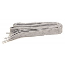 FeetPeople High Quality Fat Laces For Boots And Shoes, Grey