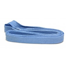 FeetPeople High Quality Fat Laces For Boots And Shoes, Columbia Blue
