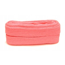 FeetPeople High Quality Fat Laces For Boots And Shoes, Neon Pink