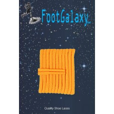 FootGalaxy High Quality Round Laces For Boots And Shoes, Gold