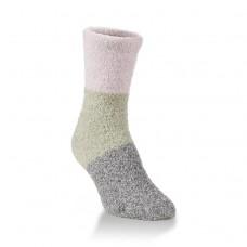 Hiwassee Fireside Crew Socks 1 Pair, Moss, Medium