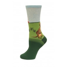 HotSox Australia Socks, Mint Melange, 1 Pair, Women Shoe 4-10
