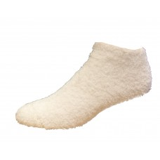 Medipeds Low Cut Sleep Socks 1 Pair, White, W4-10