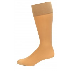 Medipeds Nylon Sheer Support Knee High Socks 1 Pair, Nude, W4-10