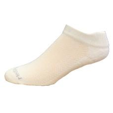Medipeds Coolmax Poly Flexpanel Low Cut Socks 4 Pair, White, W7-10