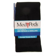 MediPeds Compression Opaque Trouser, 1 Pair, Large, Black