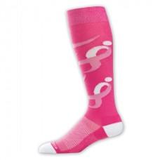 NB Komen Knee High Socks, Medium, Pink, 1 Pair