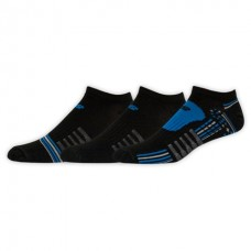 NB Performance No Show Socks, X-Large, Ast1, 3 Pair