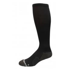 New Balance Strategic Cushion Running Over The Calf Socks, Black, (L) Ladies 10-13.5/Mens 8.5-12.5, 1 Pair