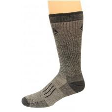 RealTree Full Cushion Merino Wool Crew Socks, 1 Pair, Large (M 9-13), Black