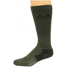 RealTree Insect Shield Over the Calf Socks, 1 Pair, X-Large (M 12-16), Olive