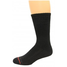 Rockport Men's Crew Socks 4 Pair, Black, Men's 8-12