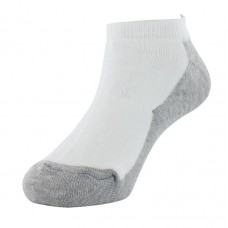 Sof Sole All Sport No Show Athletic Performance Socks, White, Youth 10-4.5, 6-Pack