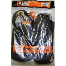 Sof Sole All Sport No Show Socks (6pr), Black, Mens 10-12.5