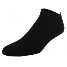 Sof Sole All Sport No Show Athletic Performance Socks, White, Mens Large 10-12.5, 6-Pack