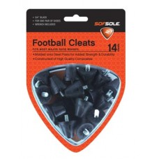 Sof Sole Football Cleats Nylon 3/4 inch