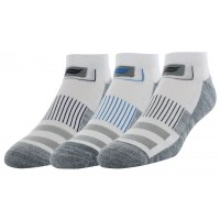 Sof Sole Multisport Cushion 3 Pair Men's Socks, White, Men's 8-12.5