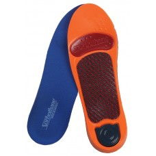 Sorbothane Ultra Graphite Medium Arch Insoles