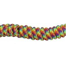 FeetPeople Curly Key Chain, Rainbow