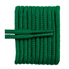 FeetPeople High Quality Round Laces For Boots And Shoes, Kelly Green