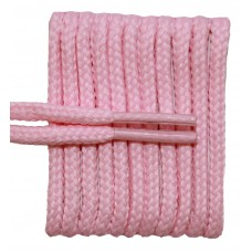 FeetPeople High Quality Round Laces For Boots And Shoes, Pink