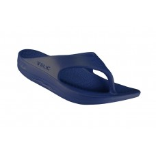 Telic Flip Flop Arch Supportive Recovery Sandal Unisex, Deep Ocean