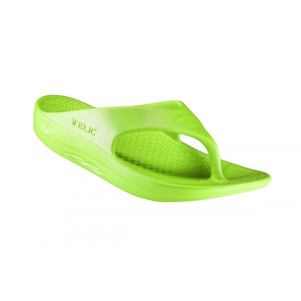 d68ac74ff08764 Telic Flip Flop Arch Supportive Recovery Sandal Unisex