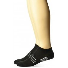 Top Flite Comfort No Show Socks, Black, (L) W 9-12 / M 9-13, 2 Pair